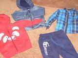 Рубашка, спортивный костюм, джинсовка