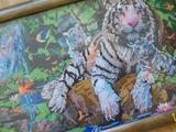 """Ручная работа - Картина бисером """"Уссурийский тигр"""""""